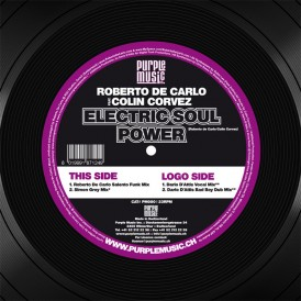 Roberto De Carlo feat. Colin Corvez 'Electric Soul Power (Purple Music)